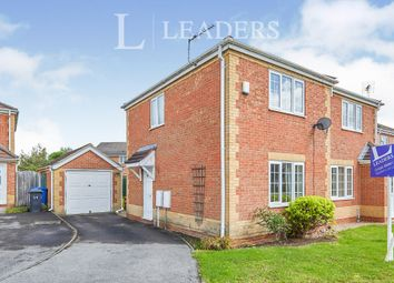 Thumbnail 2 bed semi-detached house to rent in Mimosa Crescent, Sunnyhill, Derby