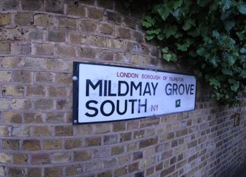 Thumbnail 1 bed flat to rent in Mildmay Grove South, Canonbury