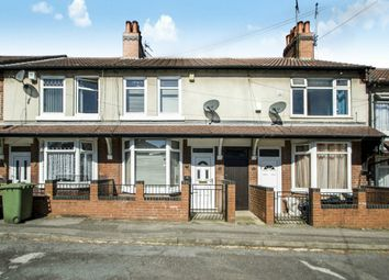 Thumbnail 3 bed terraced house for sale in Redcliffe Road, Mansfield, Nottinghamshire