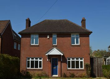 Thumbnail 4 bed detached house to rent in Monks Lane, Newbury