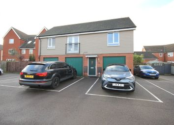 Thumbnail 2 bed flat to rent in Crossbill Close, Costessey, Norwich