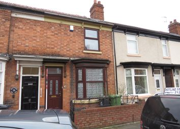 Thumbnail 3 bed terraced house for sale in Joynson Street, Darlaston, Wednesbury