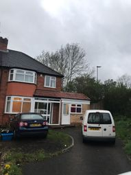 Thumbnail 3 bed semi-detached house to rent in Haunch Lane, Birmingham