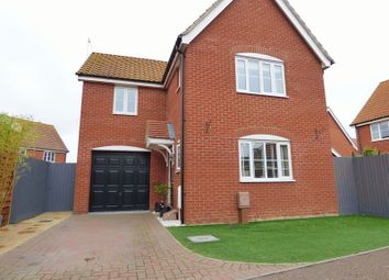 Thumbnail 3 bed detached house for sale in Ullswater, Carlton Colville, Lowestoft
