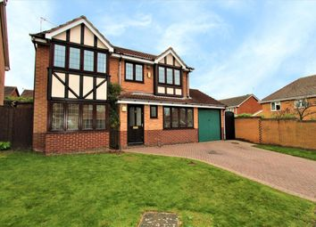 Thumbnail 4 bed detached house for sale in Northolt Drive, Nuthall, Nottingham