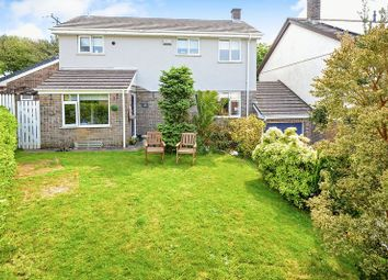 Thumbnail 5 bed detached house for sale in Greenbank Close, Grampound Road, Truro