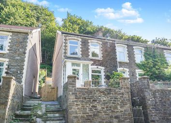 Thumbnail 3 bed end terrace house for sale in Newport Road, Cwmcarn, Newport