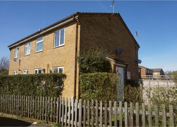 Thumbnail 1 bed terraced house for sale in Laxton Close, Luton