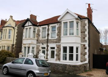 Thumbnail 1 bed flat for sale in Langport Road, Weston-Super-Mare
