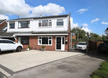 Thumbnail 3 bed semi-detached house to rent in Linden Close, Woolston, Warrington
