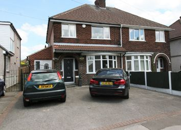 Thumbnail 3 bed semi-detached house for sale in Moor Lane, Bolsover, Chesterfield