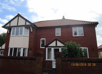 Thumbnail 4 bedroom detached house to rent in Newell Crescent, West Runton, Cromer