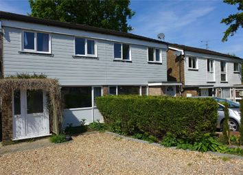 Thumbnail 3 bed semi-detached house to rent in Hampton Close, Church Crookham, Fleet