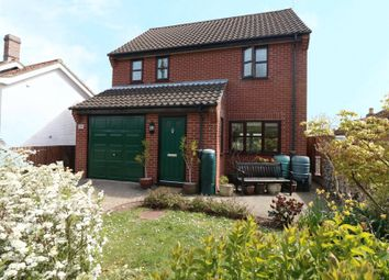 Thumbnail 3 bed detached house for sale in High Street, Wicklewood, Wymondham
