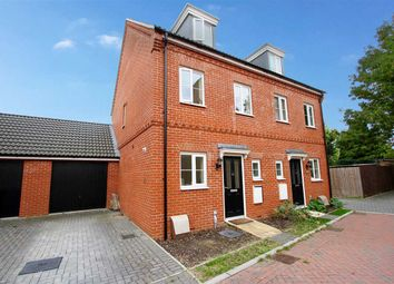 Thumbnail 3 bed semi-detached house for sale in Malkin Close, Ipswich