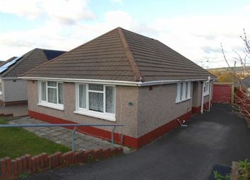 Thumbnail 3 bed detached bungalow for sale in Eileen Road, Llansamlet, Swansea