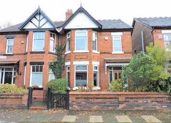 Thumbnail 3 bedroom semi-detached house for sale in Berkley Avenue, Levenshulme, Manchester