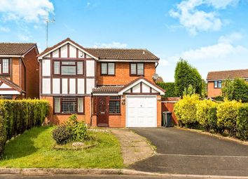 Thumbnail 4 bedroom detached house for sale in Oriel Close, Milking Bank, Dudley