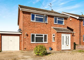 Thumbnail 3 bed link-detached house for sale in Hall Road, Bawdeswell, Dereham