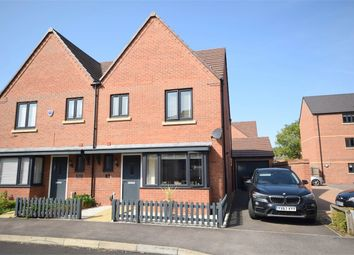 Thumbnail 3 bed semi-detached house for sale in Eden Road, Marina Gardens, Northampton