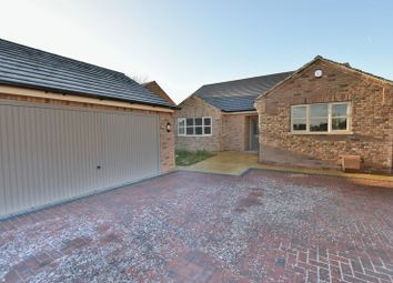 Thumbnail 3 bed detached bungalow for sale in Poplar Close, North Greetwell, Lincoln