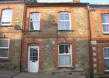 Thumbnail 2 bed terraced house to rent in Pound Street, Liskeard, Cornwall
