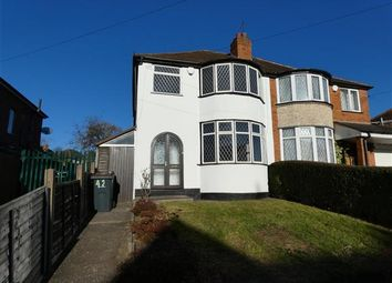 Thumbnail 3 bed semi-detached house to rent in Goldthorne Avenue, Sheldon, Birmingham