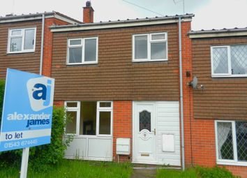 Thumbnail 2 bed terraced house to rent in Frank Gee Close, Rugeley