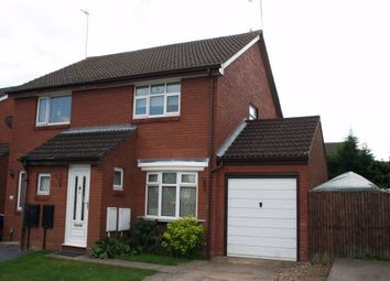 Thumbnail 2 bed semi-detached house to rent in 14 Ravenglass, Brownsover, Rugby, Warwickshire