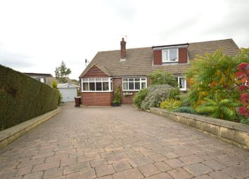 Thumbnail 3 bed semi-detached bungalow for sale in Carr Hill Nook, Calverley, Pudsey, West Yorkshire