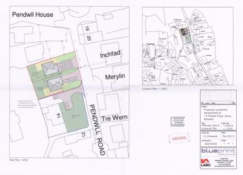 Thumbnail Land for sale in Pendwll Road, Moss, Wrexham