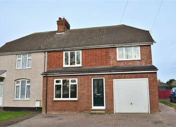 Thumbnail 3 bed semi-detached house for sale in High Road, Shillington, Hitchin