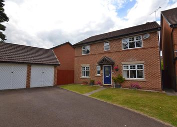 Thumbnail 4 bed detached house for sale in Daimler Close, Stafford