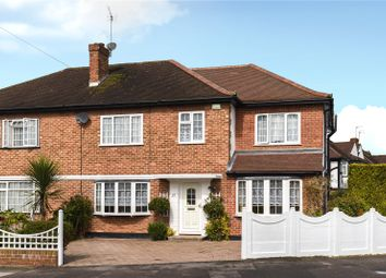 Thumbnail 4 bed semi-detached house for sale in Aragon Drive, Eastcote, Middlesex