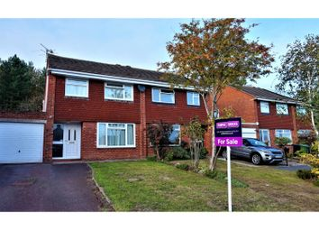 Thumbnail 3 bed semi-detached house for sale in Ongrils Close, Pershore