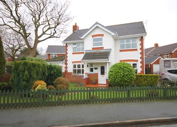 Thumbnail 4 bed detached house for sale in Mossdale Close, Great Sankey, Warrington