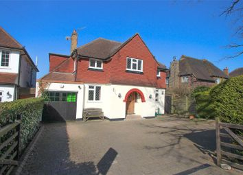 Thumbnail 3 bedroom detached house for sale in Manor Road South, Esher, Surrey
