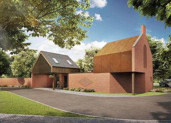 Thumbnail 4 bed detached house for sale in Culcheth Hall Drive, Culcheth, Warrington