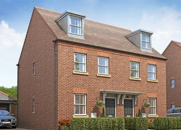 "Thumbnail 3 bed semi-detached house for sale in ""Kirkwood"" at Whites Lane, New Duston, Northampton"