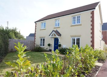 Thumbnail 4 bed detached house for sale in Saffin Drive, Taunton