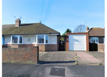 Thumbnail 2 bed semi-detached bungalow for sale in Irene Avenue, Lancing