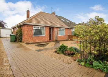 Thumbnail 2 bed semi-detached bungalow for sale in Wood View Road, Hellesdon, Norwich
