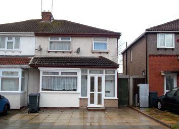 Thumbnail 3 bed semi-detached house to rent in Redthorn Grove, Stechford, Birmingham