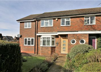 Thumbnail 3 bed end terrace house for sale in Cleves Close, Cobham