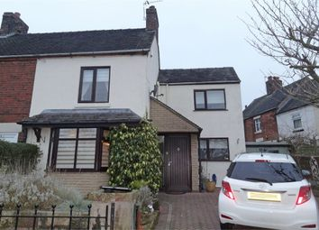 Thumbnail 2 bed semi-detached house for sale in Glebe Road, Kingsley, Stoke-On-Trent, Staffordshire