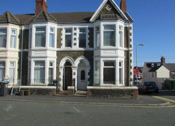 Thumbnail 5 bedroom end terrace house to rent in Tewkesbury Street, Cathays
