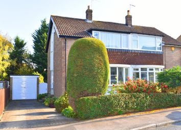 Thumbnail 3 bed semi-detached house for sale in Rudbeck Crescent, Harrogate