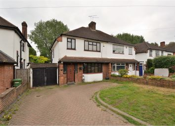 Thumbnail 3 bed semi-detached house for sale in Friars Avenue, Brentwood
