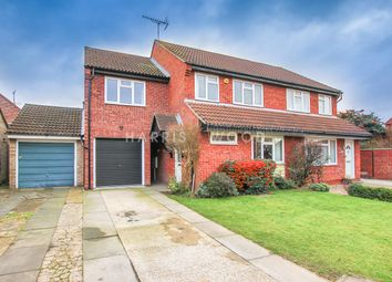 Thumbnail 4 bed semi-detached house for sale in Darnel Way, Stanway, Colchester