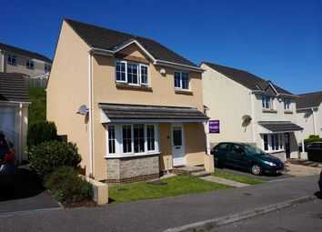 Thumbnail 4 bed detached house for sale in Bishops Close, Saltash